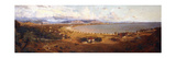 View of Bombay Looking South-East from Malabar Hill Giclee Print by Horace Van Ruith