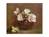 Roses of Nice, 1882 Giclee Print by Ignace Henri Jean Fantin-Latour