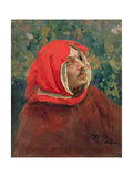 Portrait of Dante Alighieri (1265-1321) Giclee Print by Ilya Efimovich Repin
