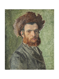 Portrait of a Young Hasidic Jew Giclee Print by Isidor Kaufmann