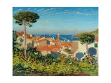 The Town of Collioure, C.1908 Giclee Print by James Dickson Innes