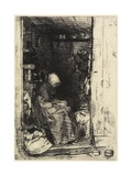 La Vieille Aux Loques from Twelve Etchings from Nature, 1858 Giclee Print by James Abbott McNeill Whistler