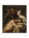 Samson and Delilah, 1630-35 Giclee Print by Jan The Elder Lievens