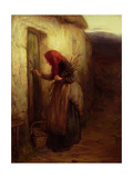 A Lonely Life, C.1873 Giclee Print by Hugh Cameron