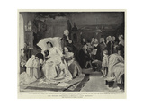 The Mozart Centenary, Mozart's Last Moments Giclee Print by Hermann Kaulbach