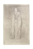 The Model Resting, 1870 Giclee Print by James Abbott McNeill Whistler