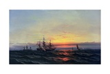 From Sail to Steam Giclee Print by James Hamilton