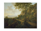 Italianate Landscape with Muleteers Giclee Print by Jan Both