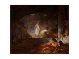 The Laundresses, C.1756-61 Impression giclée par Jean-Honore Fragonard