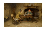The Moneylender Giclee Print by John Arthur Lomax