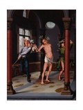 Flagellation, C.1510-15 Giclee Print by Jan Provoost