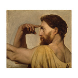 Study for Phidias in the Apotheosis of Homer, 1827 Giclee Print by Jean Auguste Dominique Ingres
