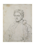 Portrait of Charles Robert Cockerell, 1817 Giclee Print by Jean Auguste Dominique Ingres