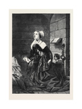 Dinah's Prayer, in the Exhibition of the Royal Academy Giclee Print by John Bostock