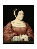Madame De Canaples, C.1525 Giclee Print by Jean Clouet
