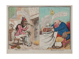 French Liberty; British Slavery, Published by Hannah Humphrey, 1792 Giclee Print by James Gillray