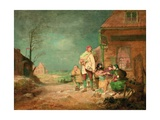Outward Bound: Dinner Time, C.1852 Giclee Print by John Alexander Gilfillan