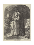 Mermaiden's Well, Vide Bride of Lammermoor Giclee Print by John Absolon
