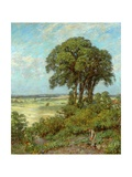 Landscape in Sussex Giclee Print by James Charles