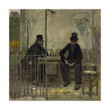 The Absinthe Drinkers (Les Declasses), 1881 Giclee Print by Jean Francois Raffaelli