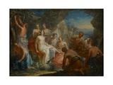 The Bath of Diana, C.1730 Wydruk giclee autor Johann Georg Platzer