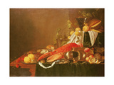 Still Life, 17th Century Giclee Print by Jan Davidsz. de Heem