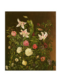 Summer Flowers Giclee Print by Johan Laurents Jensen