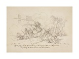 Repulse of the French Imperial Guard Giclee Print by John Augustus Atkinson