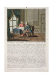 Cardinal De Fleury (1653-1743) Consults with Marechal De Belle-Isle (1684-1761) on the Conditions o Giclee Print by Jacques Francois Joseph Swebach