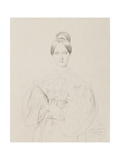 Portrait of Madame Thiers, 1834 Giclee Print by Jean Auguste Dominique Ingres