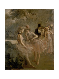 Scene in the Wings of a Theatre, C. 1870 - 1900 Giclee Print by Jean Louis Forain