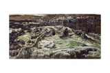 Calvary from the Walls of Herod's Palace Giclee Print by James Jacques Joseph Tissot