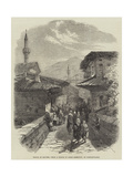 The Earthquake at Constantinople Giclee Print by James Robertson