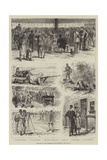 Sketches of the Wimbledon Rifle Meeting Giclee Print by Johann Nepomuk Schonberg