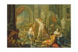 The Pleasures of the Seasons: Summer, C.1730 Giclee Print by Johann Georg Platzer