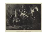 Prince Charles in Hiding Giclee Print by J.B. MacDonald