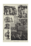 Life in Russia Giclee Print by Johann Nepomuk Schonberg