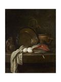 Still Life: the Kitchen Table, C.1755-56 Gicléedruk van Jean-Baptiste Simeon Chardin