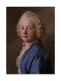 Portrait of Prince Friedrich Von Sachsen-Gotha-Altenburg, 1746 (Pastel) Giclee Print by Jean-Etienne Liotard