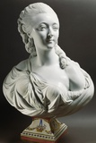 Bust of Marie-Jeanne Becu Giclee Print by Jean Baptiste II Lemoyne