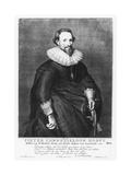 Pieter Corneliszoon Hooft Giclee Print by Jacobus Houbraken