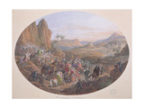 Design for a Set of Plates Depicting 'The Pilgrimage to Mecca' Giclee Print by Jean-Charles Develly