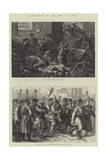 Ill-Treatment of the Jews in Russia Giclee Print by Johann Nepomuk Schonberg