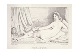 L'Odalisque Couchee, 1825 Giclee Print by Jean Auguste Dominique Ingres