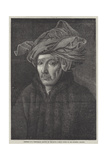Portrait of a Gentleman Giclee Print by  Jan van Eyck