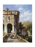 Church of San Spirito Giclee Print by Jacques Carabain