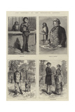 Odd Sketches at the Zoological Gardens Giclee Print by Johann Nepomuk Schonberg