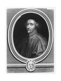 Portrait of Jean-François Senault Giclee Print by Jacques Lubin