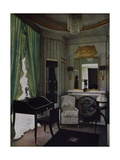 Design for Boudoir of Hotel Du Collectionneur Giclee Print by Jacques-emile Ruhlmann