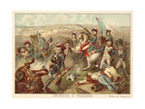 General Jourdan at the Battle of Fleurus, 1794 Giclee Print by Jean Baptiste Mauzaisse